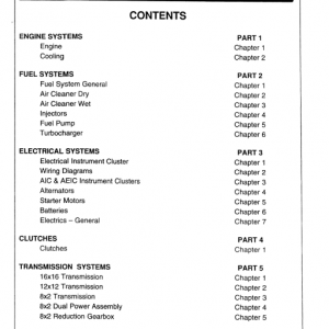 Ford 40 Series Tractors 5640, 6640, 7740, 8240, 8340 Service Manual