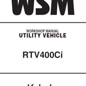 Kubota RTV400CI Utility Vehicle