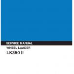 Kobelco Lk350 Ii Wheel Loader Service Manual