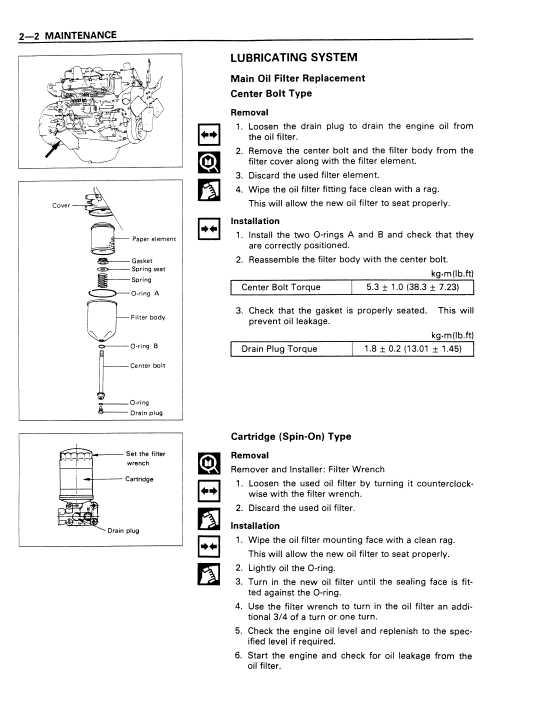 Isuzu 6bb1, 6bd1, 6bg1, 6bd1t, 6bg1t Engine Workshop Manual