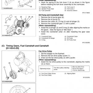 Kubota Z18, Zd21, Zd28 Mower Workshop Service Manual