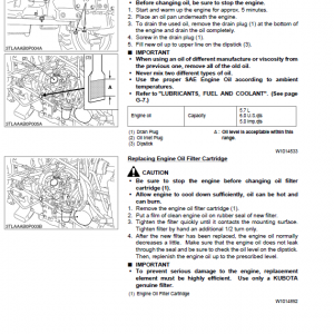 Kubota L2800, L3400 Tractor Workshop Service Manual