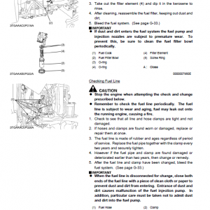 Kubota Stv32, Stv36, Stv40 Tractor Workshop Manual