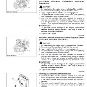 Kubota 03-m-e3b, 03-m-di-e3b, 03-m-e3bg Engines Workshop Manual