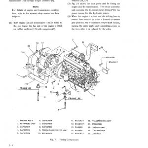 Kobelco Lk400 Wheel Loader Service Manual