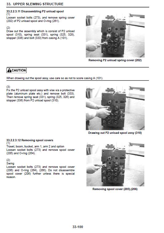 Kobelco 140srlc-3 Tier 4 Excavator Service Manual