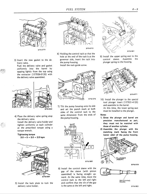Nissan Fd6, Fd6t Engine Workshop Service Manual