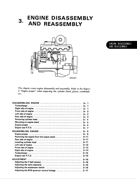Nissan Pd6, Pd6t Engine Workshop Service Manual