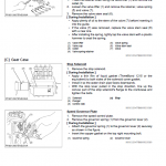 Kubota R320s, R320sb Wheel Loader Workshop Manual