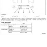 Kubota Bx22, La210, Bt600 Tractor Loader Workshop Service Manual