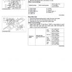 Kubota Mx4700, Mx5100 Tractor Workshop Service Manual