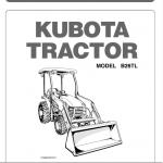 Kubota B26, Tl500, Bt820 Tractor Loader Workshop Manual
