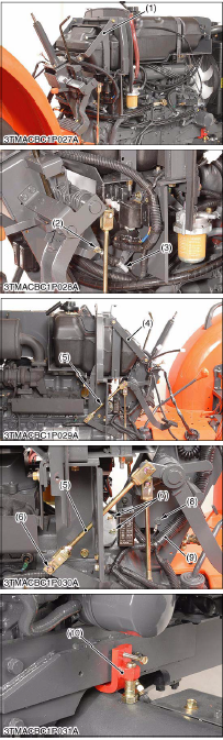 Kubota MX4700, MX5100 Tractor
