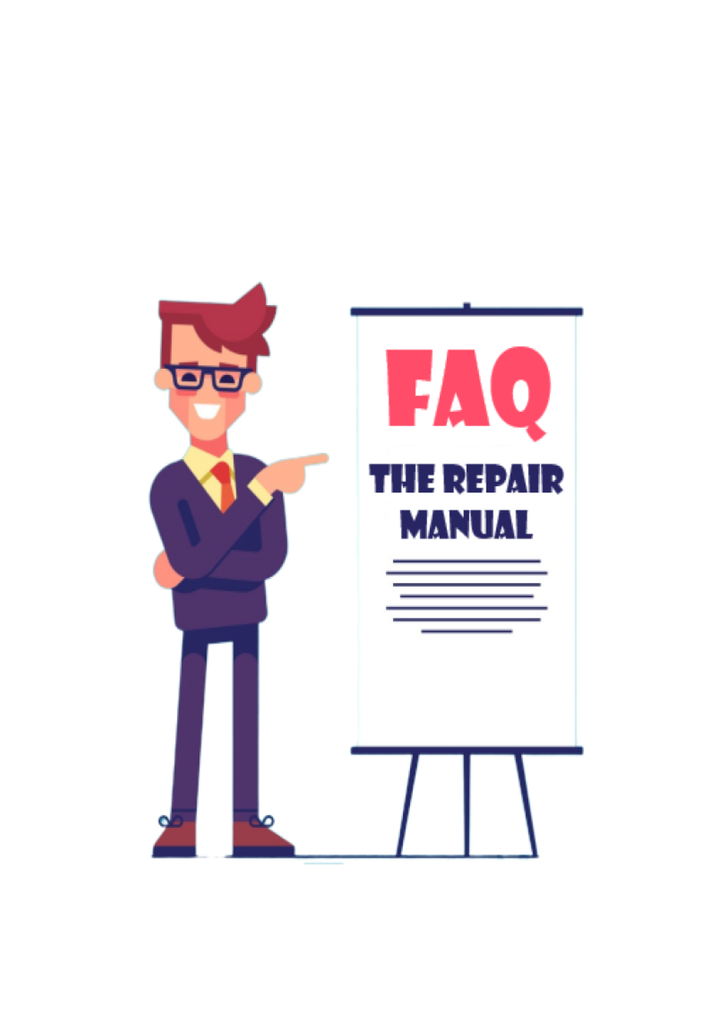 The Repair Manual - FAQs