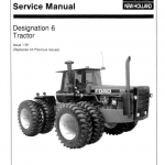 Ford Versatile 756, 836, 856, 876 Tractor Service Manual