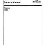 Ford 1100 Tractor Service Manual