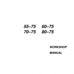 Fiat 55-75, 60-75, 70-75, 80-75 Tractor Service Manual