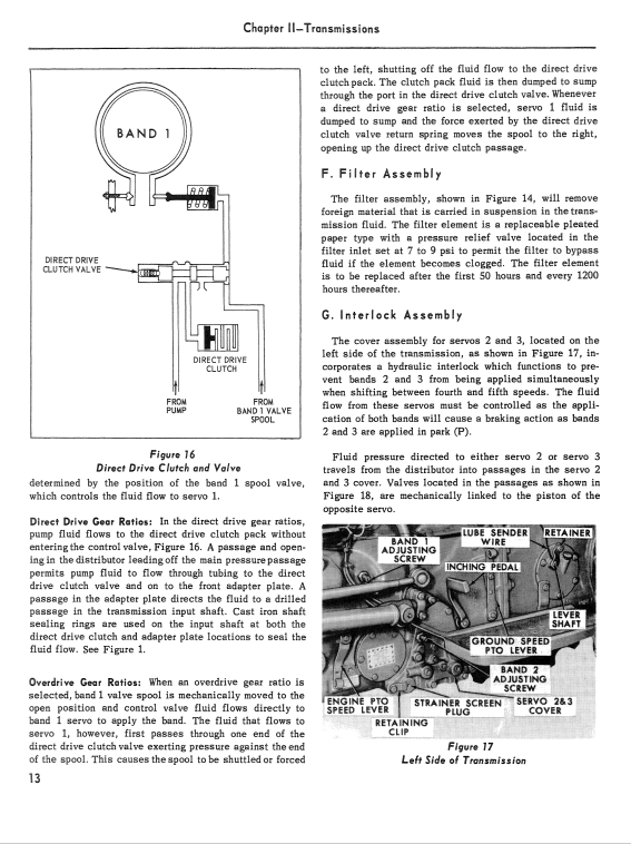 Ford 501, 600, 601, 700, 701, 800, 801 Tractor Service Manual