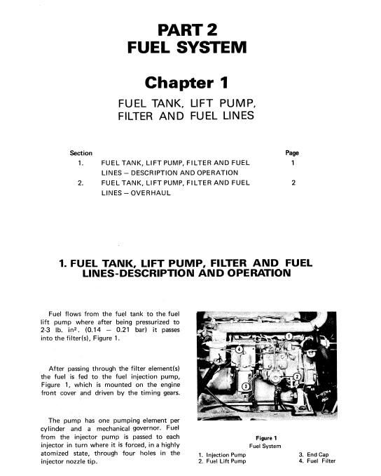 Ford A-62, A-64, A-66 Wheel Loaders Service Manual