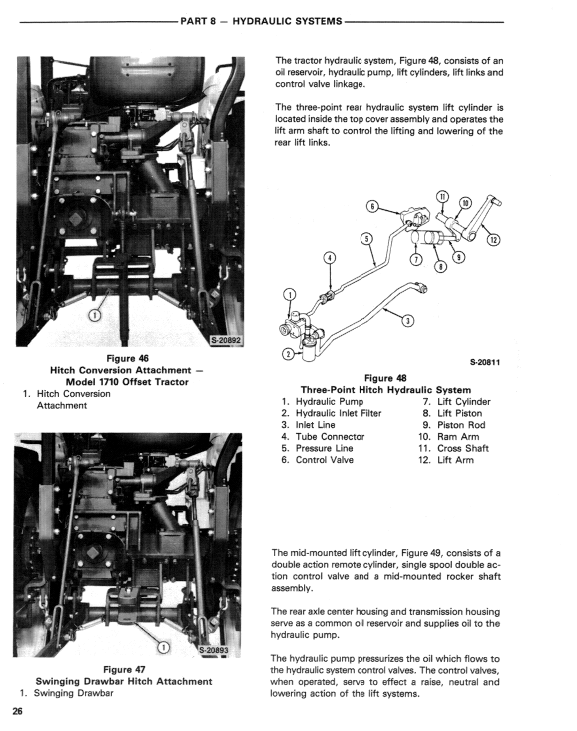Ford 1310, 1510 And 1710 Tractors Service Manual