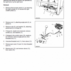New Holland Ec15, Ec25, Ec35, Ec45 Mini Excavator Service Manual