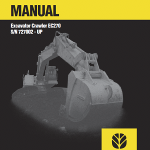 New Holland Ec270 Crawler Excavator Service Manual