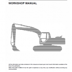 New Holland E485b Rops Excavator Service Manual