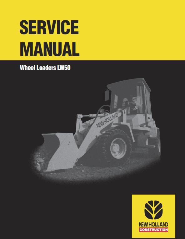 New Holland LW50 Wheel Loaders Service Manual
