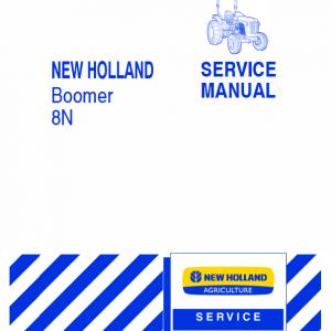 New Holland Boomer 8N Tractor repair Manual