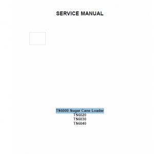 New Holland TS6000, TS6020, TS6030, TS6040 Tractors Service Manual