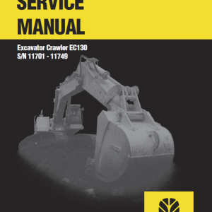 New Holland Ec130 Crawler Excavator Service Manual