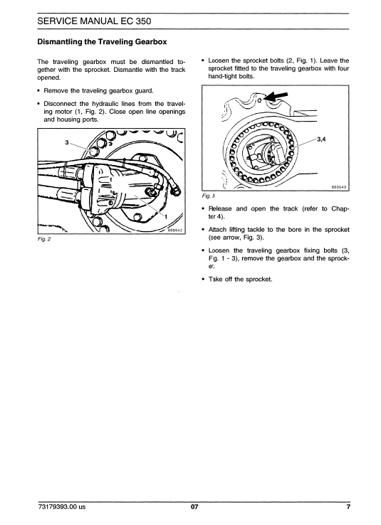 New Holland Ec350 Crawler Excavator Service Manual