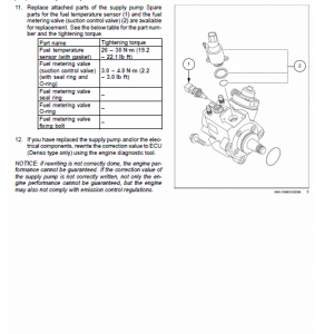 New Holland E57c Mini Excavator Service Manual