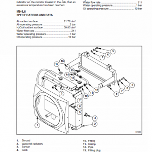 New Holland Mh4.6, Mhplusc Excavator Service Manual