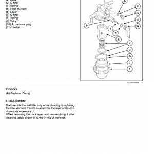 New Holland E16b, E18b Excavator Service Manual
