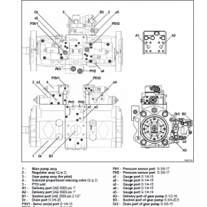 New Holland E215c, E245c Tier 4 Excavator Service Manual