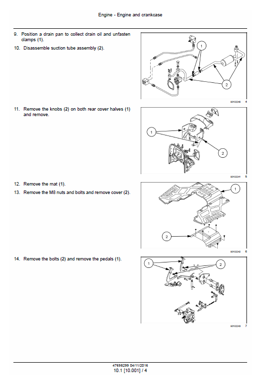 New Holland Boomer 40 And Boomer 50 Tractor Service Manual