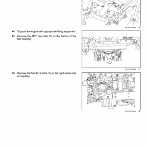New Holland Boomer 45, 50 And 55 Tractor Service Manual