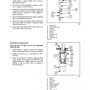 New Holland Boomer 2030 And Boomer 2035 Tractor Service Manual