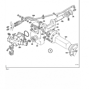 New Holland Lw50 Wheel Loaders Service Manual