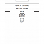 New Holland B90b, B95b, B95 Blr, B95 Tc Backhoe Loader Service Manual