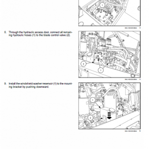 New Holland D180c Tier 2 & Tier 3 & Tier 3 Dozer Service Manual