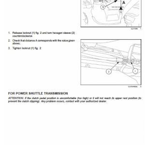 New Holland Td65f, Td75f, Td85f Tractor Service Manual