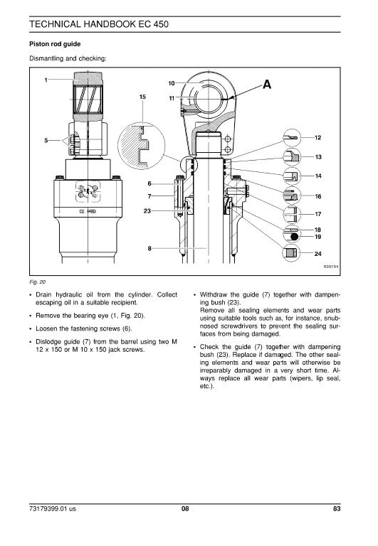 New Holland Ec450 Crawler Excavator Service Manual