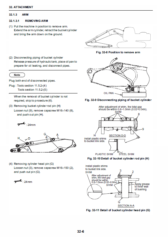 New Holland E215b, E215blc Excavator Service Manual