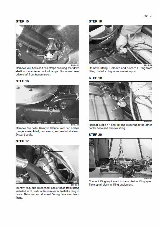 New Holland W170b Wheel Loader Service Manual