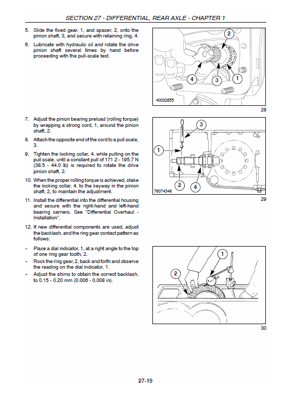 New Holland Boomer 4055 And Boomer 4060 Tractor Service Manual