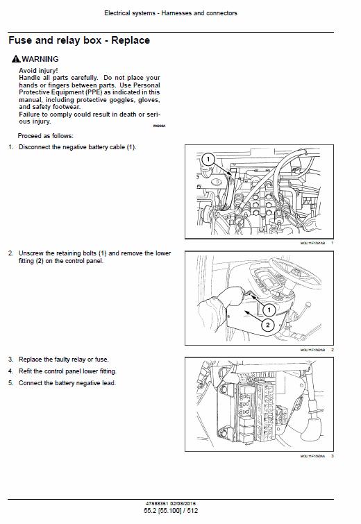New Holland T4.75f, T4.85f, T4.95f, T4.105f Tractor Service Manual