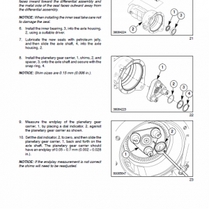 New Holland Boomer 8n Tractor Service Manual