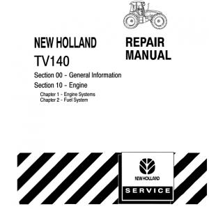 New Holland TV140 Tractor Repair Manual